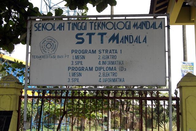 Pendaftaran Kuliah Kelas Karyawan STT Mandala (SEKOLAH TINGGI TEKNOLOGI MANDALA) BANDUNG