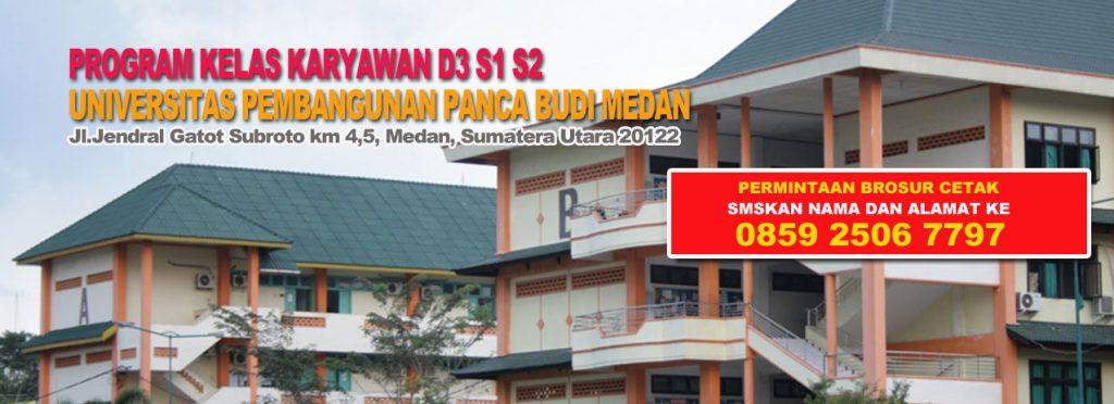 Biaya Kuliah kelas Karyawan Universitas Panca Budi (UNPAB) 2017 Medan