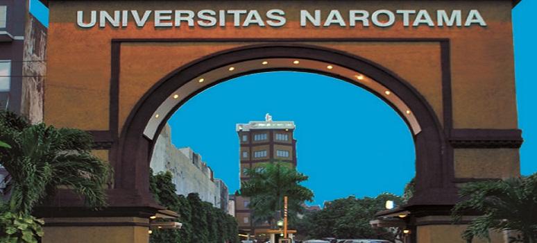 Pendaftaran Universitas Narotama (UNNAR) Surabaya