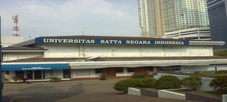 Pendaftaran Universitas Satya Negara Indonesia (USNI) Jakarta