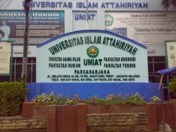 Pendaftaran Mahasiswa Baru Universitas Islam Attahiriyah ( UNIAT ) 2017-2018