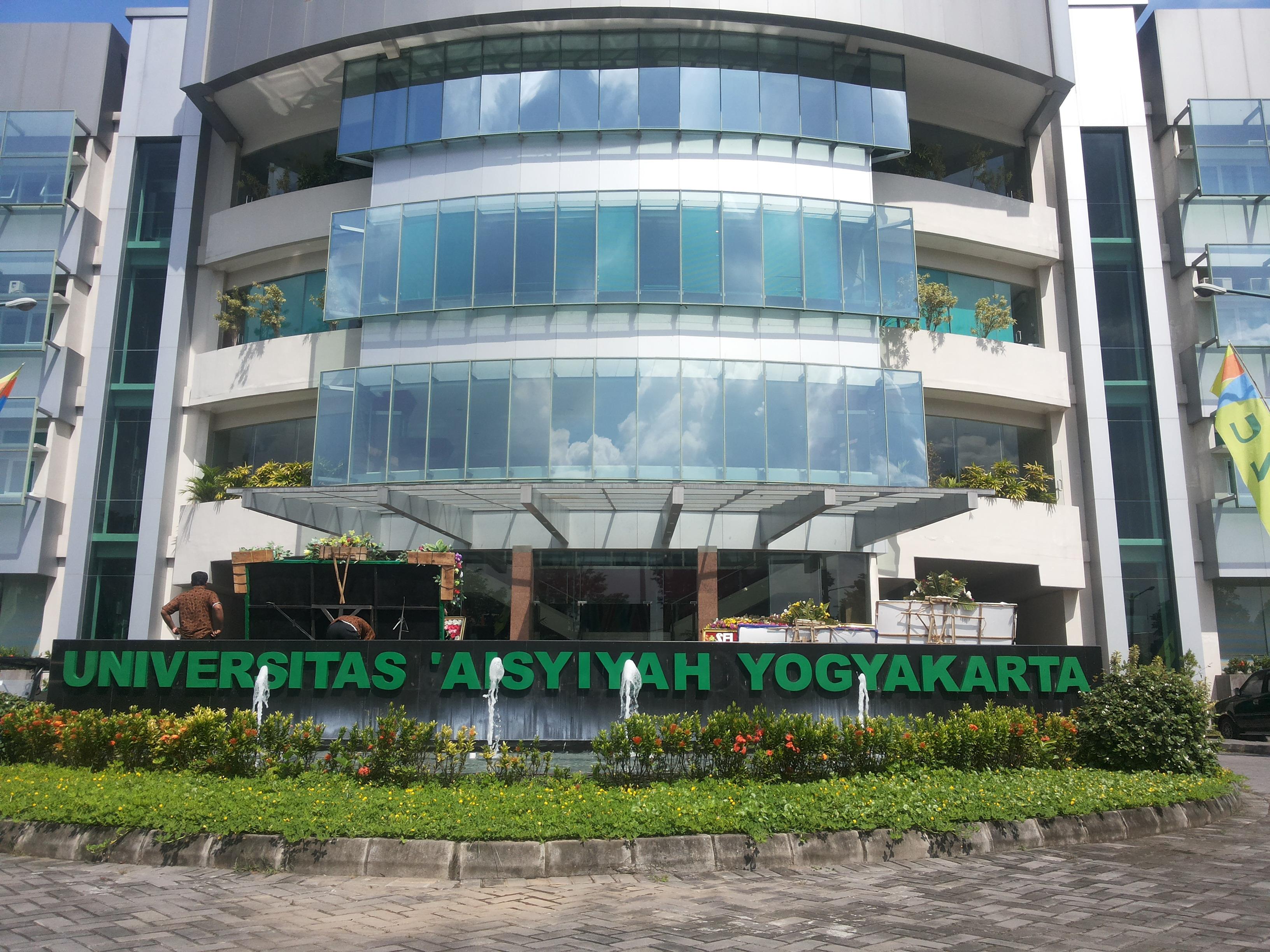 Penerimaan Mahasiswa Baru Universitas Aisyiyah Yogyakarta (UNISA) Yogyakarta TA 2017-2018