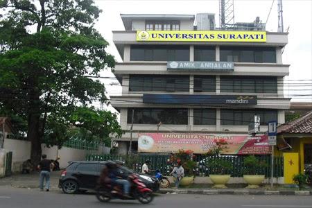 Pendaftaran Universitas Surapati Jakarta