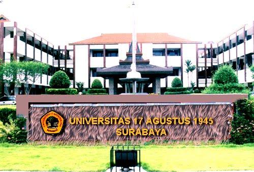 Biaya Kuliah di Universitas 17 Agustus 1945 (UNTAG) Surabaya Tahun Ajaran 2017