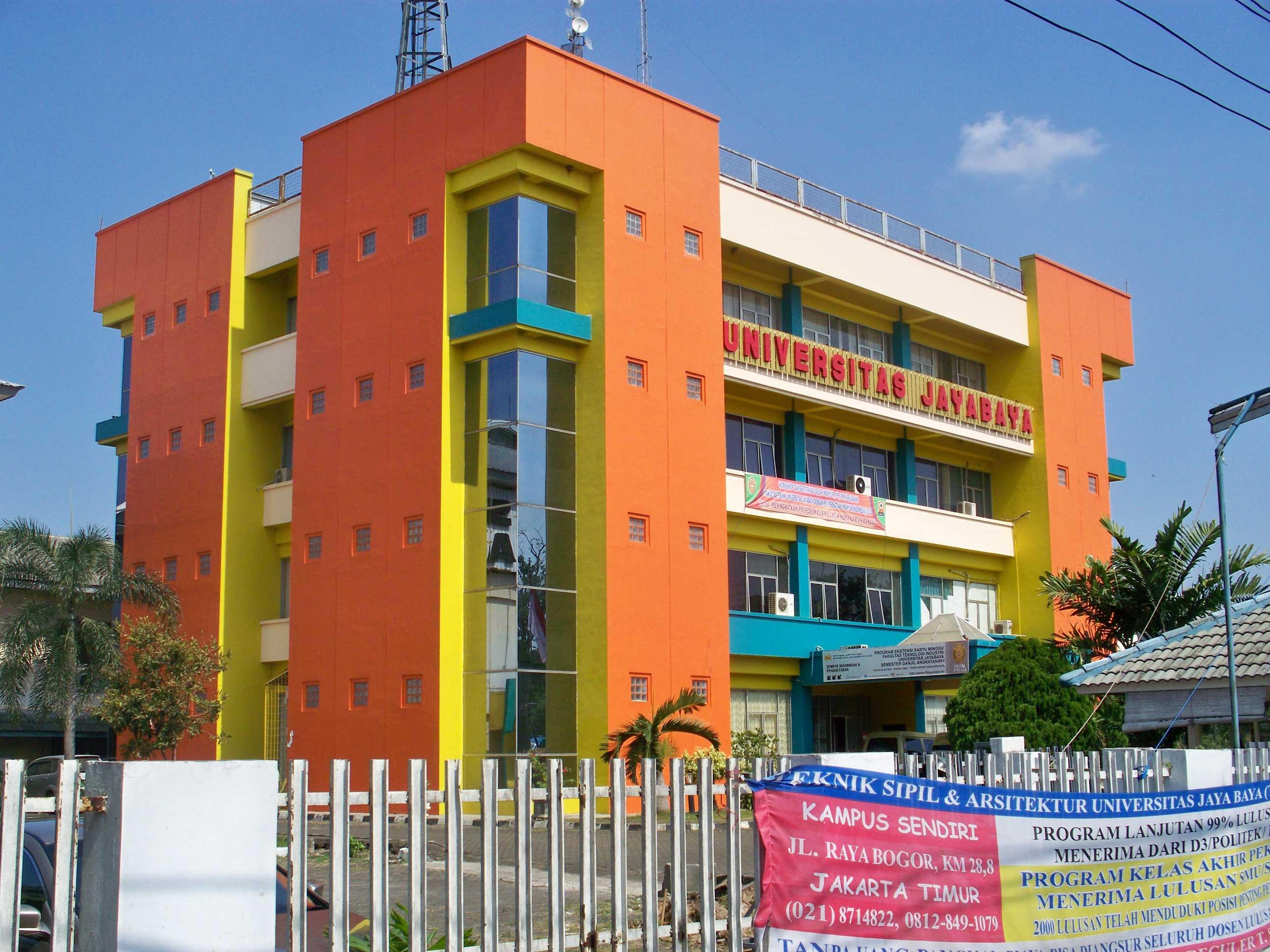 Biaya Kuliah Kelas Karyawan Fakultas Ekonomi Universitas Jayabaya (UJ) 2017-2018