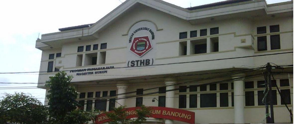 Biaya Kuliah  Sekolah Tinggi Hukum Bandung (STHB)