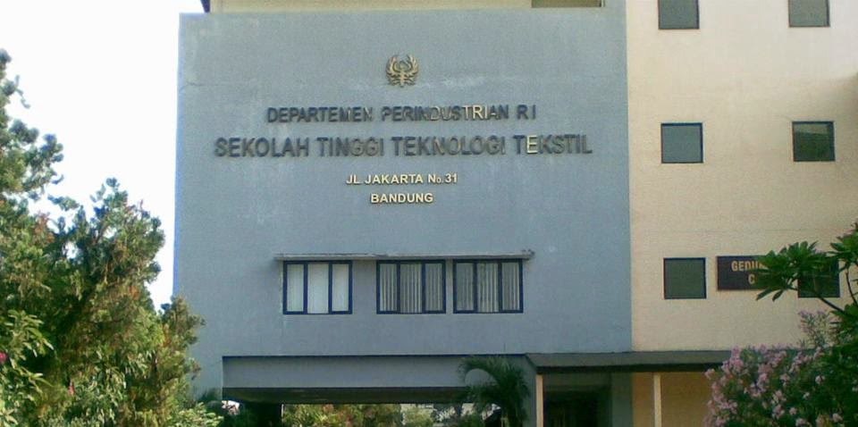 Pendaftaran Sekolah Tinggi Teknologi Tekstil STT Bandung