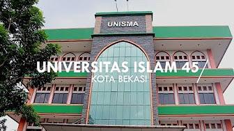 Biaya Kuliah Universitas Islam 45 (UNISMA) Bekasi Tahun 2019/2020
