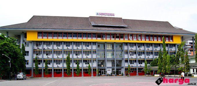 Biaya Kuliah Universitas Dr. Soetomo (UNITOMO) Surabaya Tahun 2019/2020