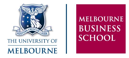 Full Tuition Fee MBA Scholarships for International Students, Melbourne Business School, Australia