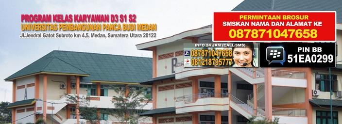 Pendaftaran Kelas Karyawan Universitas Pembangunan Panca Budi (UNPAB)