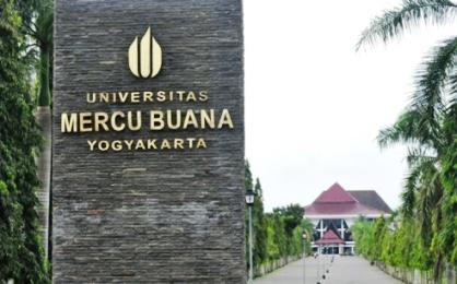 Biaya Kuliah Universitas Mercu Buana Yogyakarta (UMBY) TA 2017-2018
