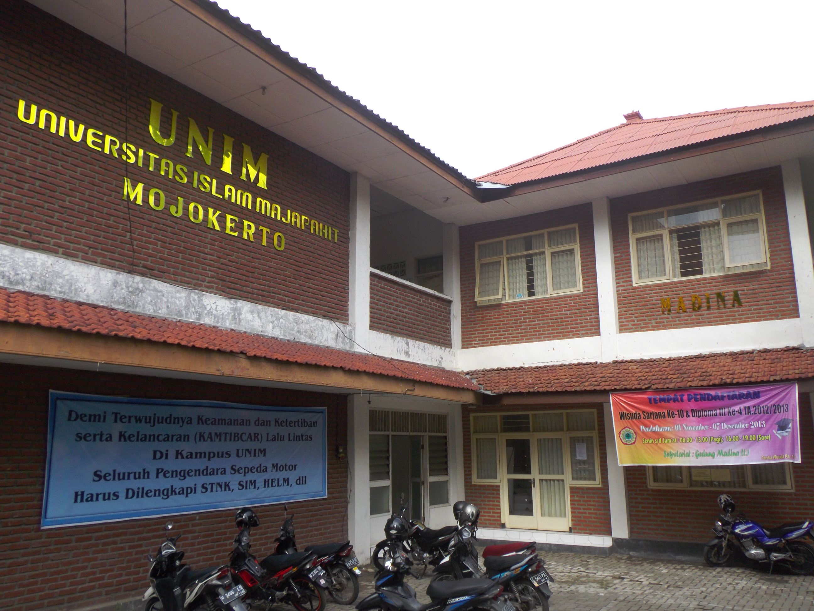 Pendaftaran Universitas Islam Majapahit (UNIM) Mojokerto
