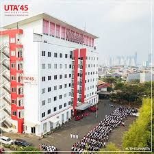 Biaya Kuliah Universitas 17 Agustus 1945 (UNTAG) Jakarta Tahun 2019/2020