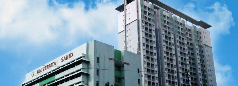 Biaya Kuliah Universitas Sahid (USAHID) Jakarta Tahun 2019/2020